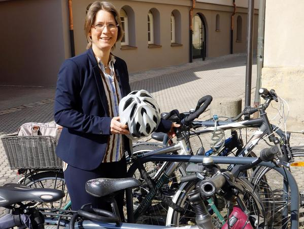 """Bürgermeisterin Annette Prechtel kennt selbst verbesserungswürdige Stellen und sagt: """"Ich weiß, wo die Schwächen liegen."""""""