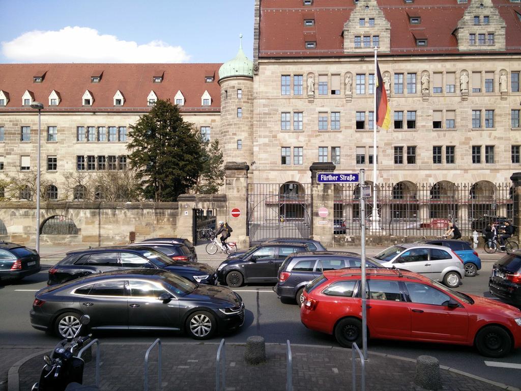 Stau in Nürnberg