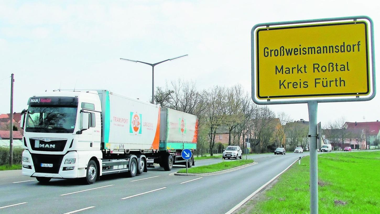 Eine Umgehung für Großweismannsdorf: Das hat die Politiker überrascht.