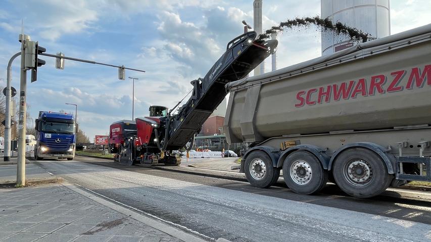 Wegen Sanierungsarbeiten: Mega-Stau rund um den Frankenschnellweg
