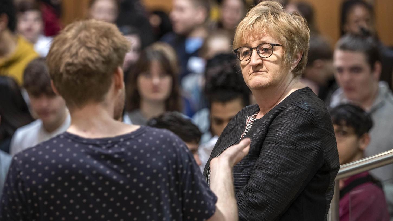 Weil Elisabeth Reichert, hier beim Jugendforum 2020 in der Stadthalle, das Referat IV vorzeitig verlässt, wird ein eigenständiges Kulturreferat gefordert.