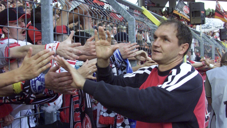 Liebling der Massen: In vier Jahren Nürnberg musste Sasa Ciric viele Hände schütteln.