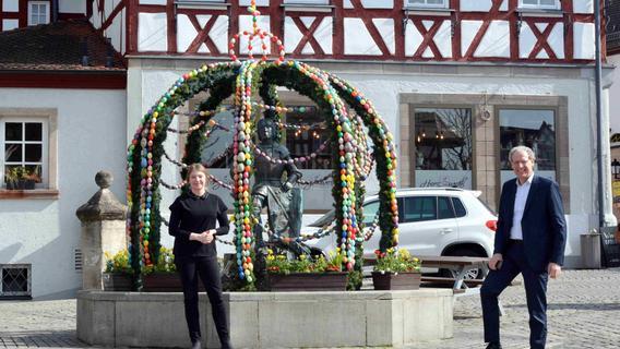Osterbrunnen im Landkreis Erlangen-Höchstadt: Zwischen Verzicht und Reduktion