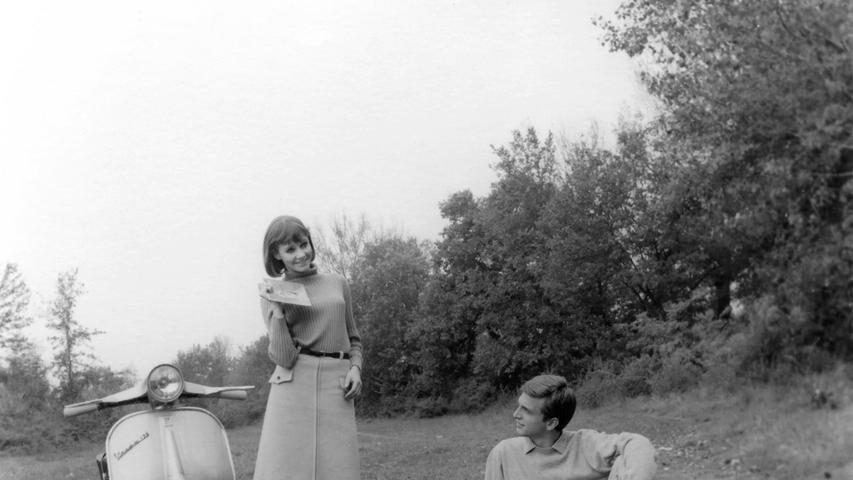Vespawerbung aus den 1960er Jahren.