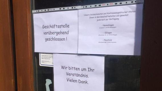 Geldautomat in Ettenstatt aufgebrochen