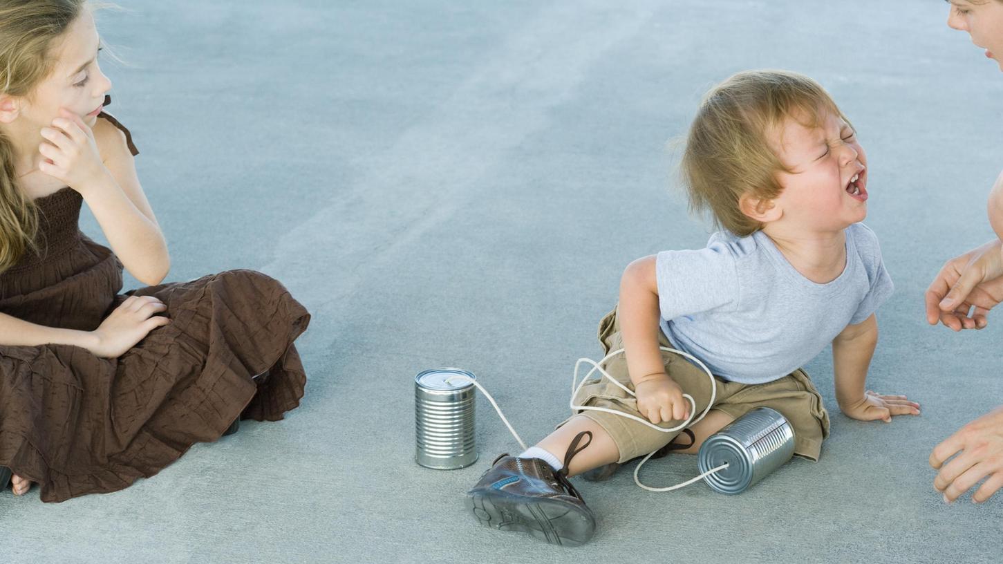 Kleiner Dickschädel gegen den Rest der Welt: Kleinkinder können ihre Emotionen nicht gut kontrollieren - und leben ihre Wutanfälle aus.