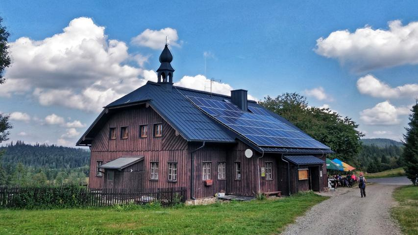 Grenzüberscheitend: Beim Finsterauer Filz geht die Wanderung nach Tschechien in den Nationalpark Šumava.