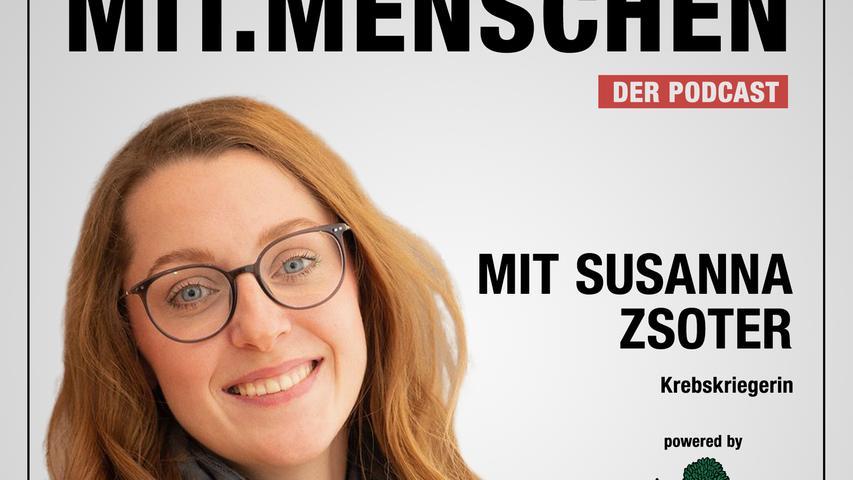 Folge 26: Susanna Zsoter, Wie eine unheilbar kranke, junge Frau gegen Krebs kämpft