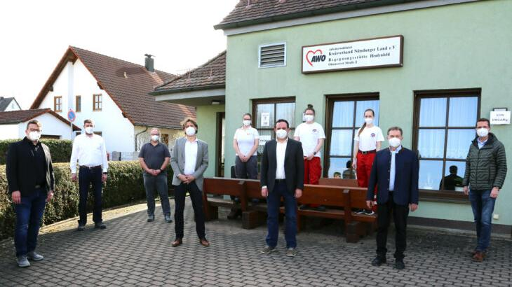 Schnellteststation in Henfenfeld eröffnet