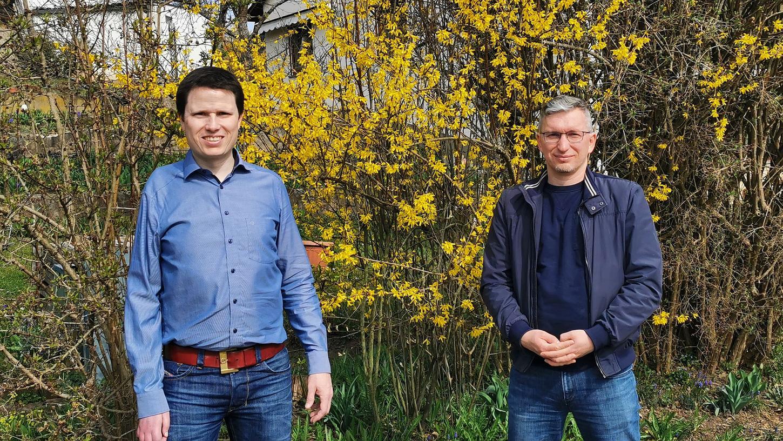 Patrick Shaw und Stefan Bergauer leiten künftig die neue Gemeinschaftsredaktion von Schwabacher Tagblatt, Roth-Hilpoltsteiner Volkszeitung und Hilpoltsteiner Zeitung.