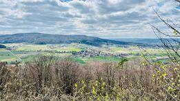 Diesen wunderschönen Ausblick bei der Ruine Dietrichstein bei Lützelsdorf hat Johannes Krämer eingefangen.