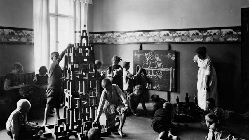 Siemens und ein Kinderheim? Tatsächlich: Das Unternehmen errichtete 1911 und 1912 ein eigenes
