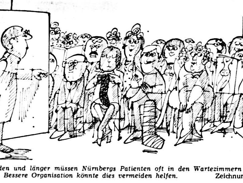 Zwei Stunden und länger müssen Nürnbergs Patienten oft in den Wartezimmern der Ärzte verbringen. Bessere Organisation könnte dies vermeiden helfen.