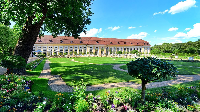 Café-Restaurant Orangerie im Hofgarten, Ansbach