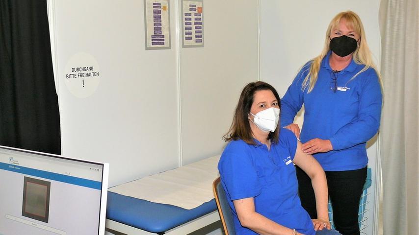 Das Impfzentrum Eckental geht an den Start
