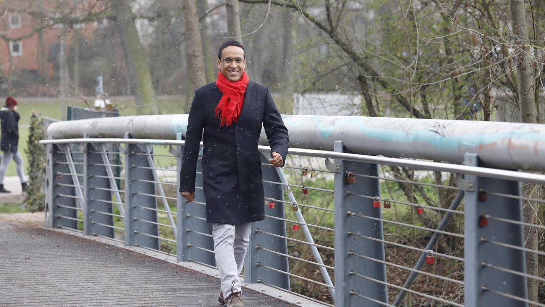 Nasser Ahmed, seit 2014 im Stadtrat, will neuer SPD-Chef in Nürnberg werden. Beruflich ist er bei dem Unternehmen Tennet beschäftigt.