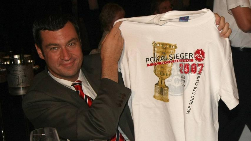 Als echter Nürnberger ist Söderauch leidenschaftlicher Clubfan. Bereits mit fünf Jahren war er im Stadion, um sein erstes Frankenderby zu verfolgen.