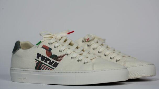 So sehen die nachhaltigen Sneaker des Ansbacher Labels