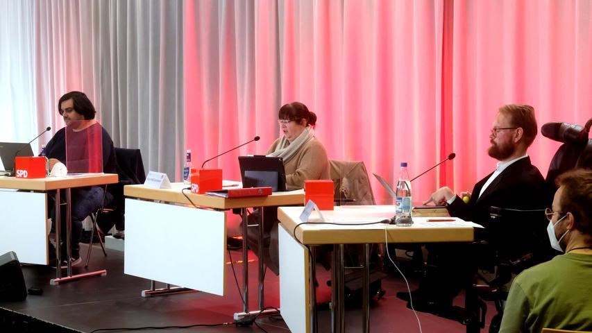 Am Samstag wählten die Abgeordneten der Nürnberger SPD einen neuen Vorsitzenden - unter Einhaltung aller erforderlichen Maßnahmen, um dem Corona-Virus keine Chance zu geben.
