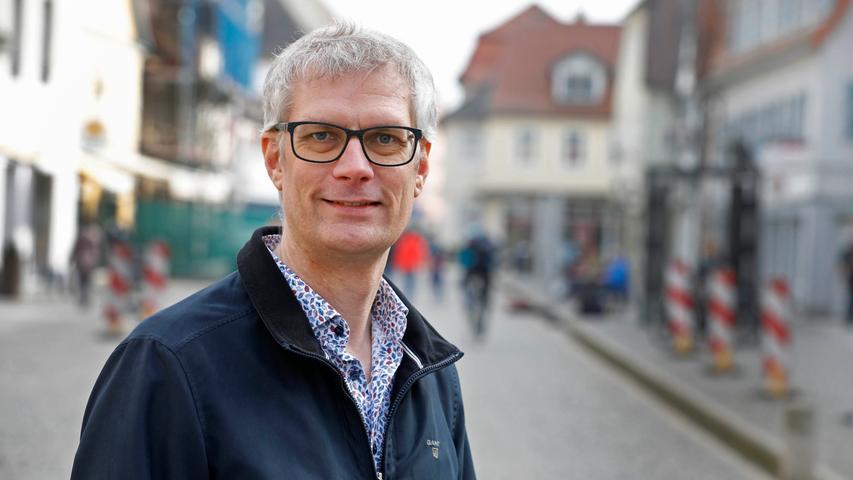 Forchheims Oberbürgermeister Uwe Kirschstein (SPD)und Mitglied im bayerischen Landesvorstand der SPD ist gegen eine mögliche Große Koalition.