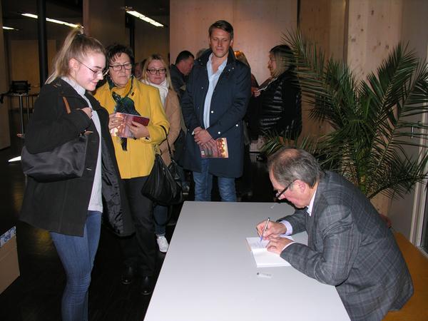 Im April 2019 stellte Robert Prosiegel sein Buch