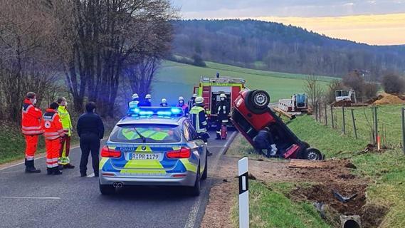 Vom Unfallfahrer fehlte jede Spur