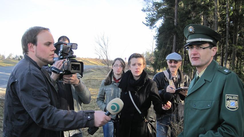 Diashow: Suchaktion in Trockau - Leiche gefunden