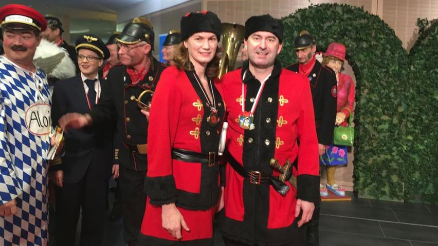 Tanja Schweiger und Hubert Aiwanger in Veitshöchheim. Unter dem Post vom 2. Februar 2018 schreibt Aiwanger: