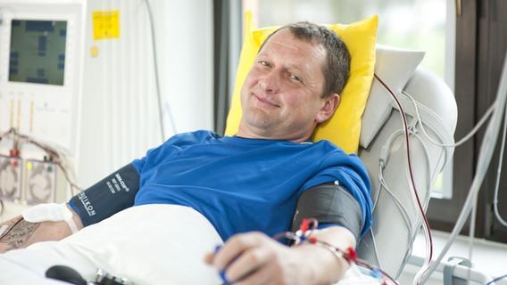 Vom Corona-Test zur Stammzellenspende: So will ein Nürnberger Arzt Leben retten