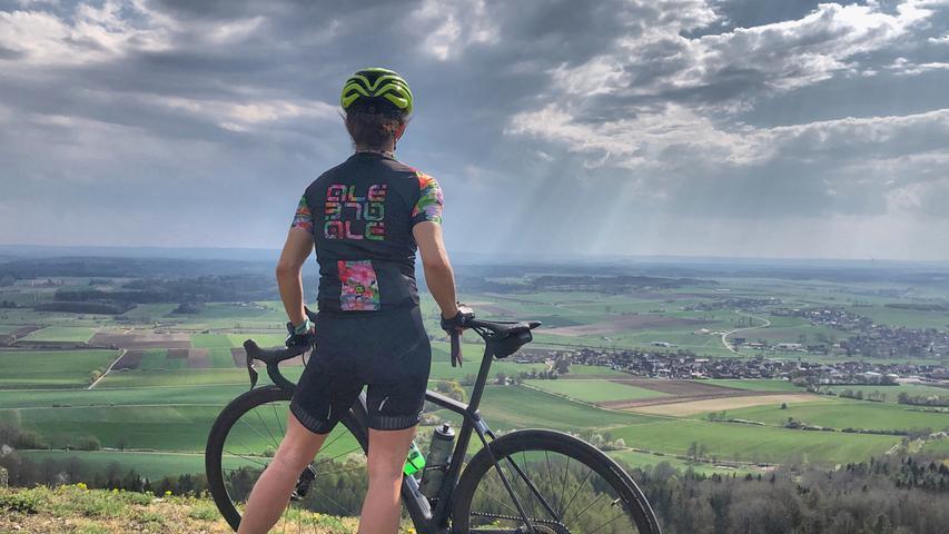 Mit seiner Trainingspartnerin Melanie verbringt Michael Sanftleben viele Stunden auf dem Fahrrad.