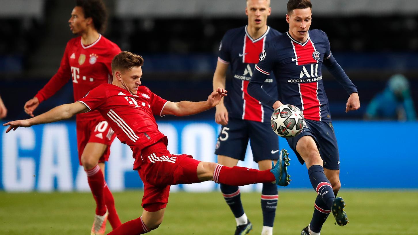 In einer umkämpften Partie setzte sich zwar der FC Bayern durch, schied aufgrund der Auswärtstorregel letztlich aber trotzdem aus.