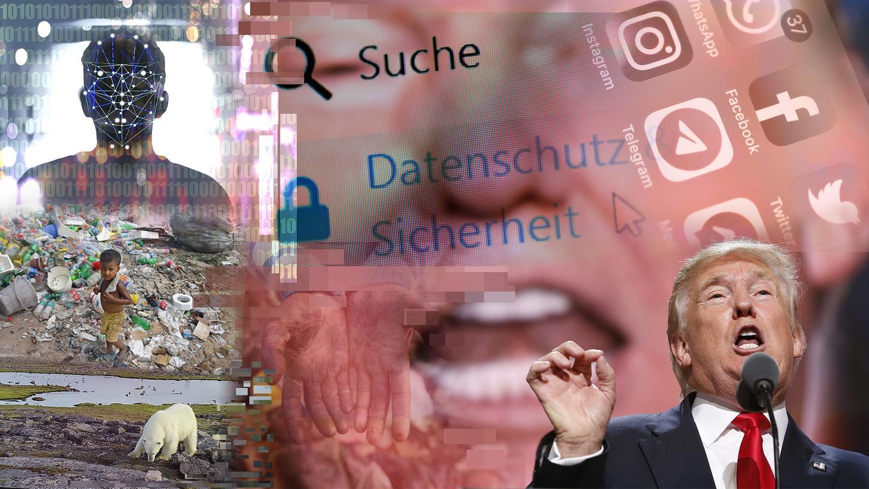 Themen und Probleme, die von Schirach mit seinem Vorstoß anpacken will: Fake News, Umweltverschmutzung, Kinderarbeit und die Übermacht der Daten-Konzerne.