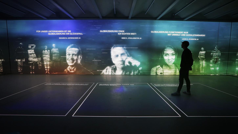Der digitale Zukunftsraum im Ludwig Erhard Zentrum.
