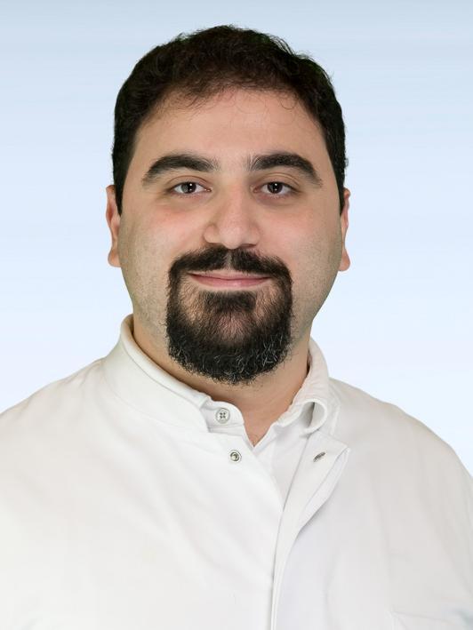 Dr. Marios Marcou aus der Urologischen und Kinderurologischen Klinik des Universitätsklinikums Erlangen.
