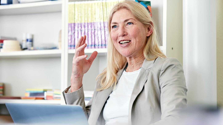 Cornelia Schödlbauer ist seit 20 Jahren erfolgreich als Coachin tätig.