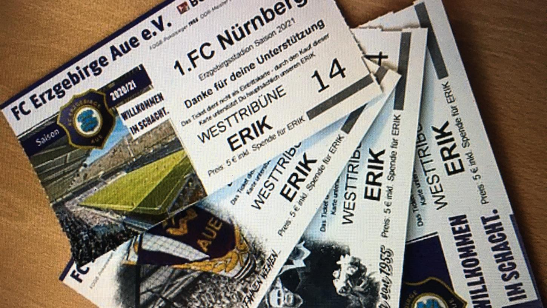 Es gibt noch Unterstützertickets: Der kleine Erik würde sich bestimmt sehr freuen.