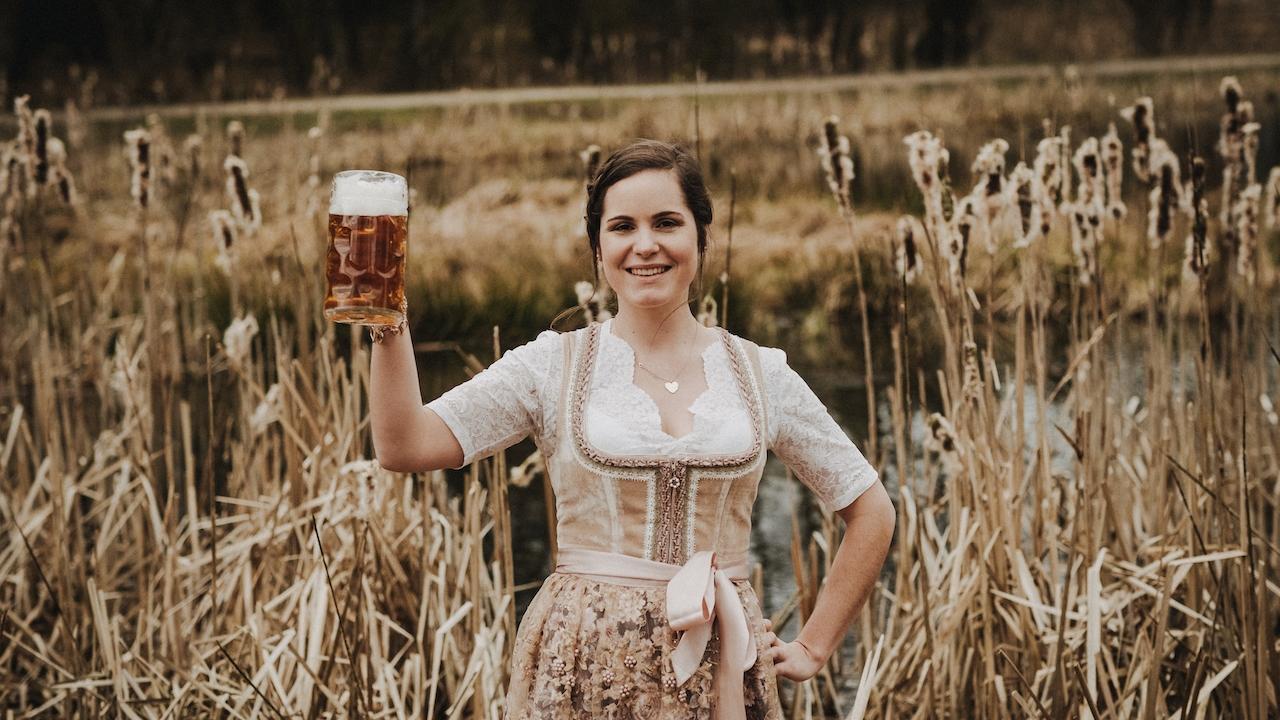 Amanda Gary aus Wolframs-Eschenbach möchte die neue bayerische  Bierkönigin werden. Die gelernte Hotelkauffrau ist die einzige Fränkin unter den sechs Finalistinnen.