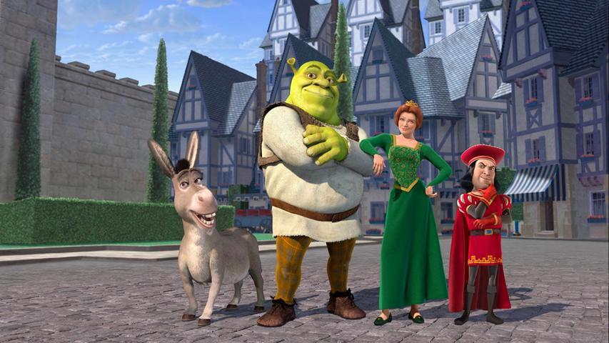 Auch Oger können Helden sein: Das bewies Shrek im gleichnamigen Animationsabenteuer von 2001. Zusammen mit seinem Freund Esel macht er sich auf die Suche nach der entführten Prinzessin Fiona, um wieder Ruhe in seinem Sumpf zu bekommen. Dass daraus ein verrücktes Abenteuer voller Humor und Schmetterlinge im Bauch wird, überrascht kaum. Weil die Abenteuer von Shrek und seinen Freunden so beliebt beim Publikum waren, gab es noch drei weitere Fortsetzungen, die unter anderem die beliebte Figur des Gestiefelten Katers einführten.