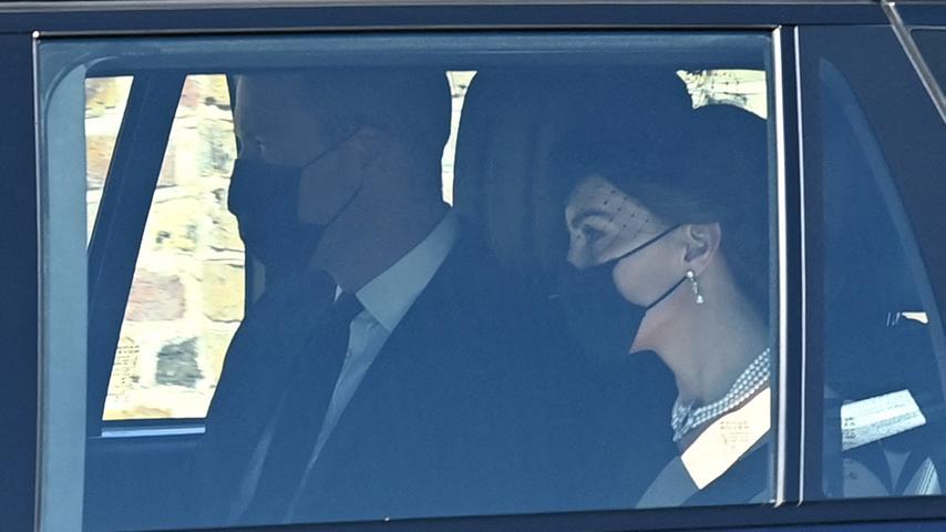 .... und Prinz William und seine Frau Catherine
