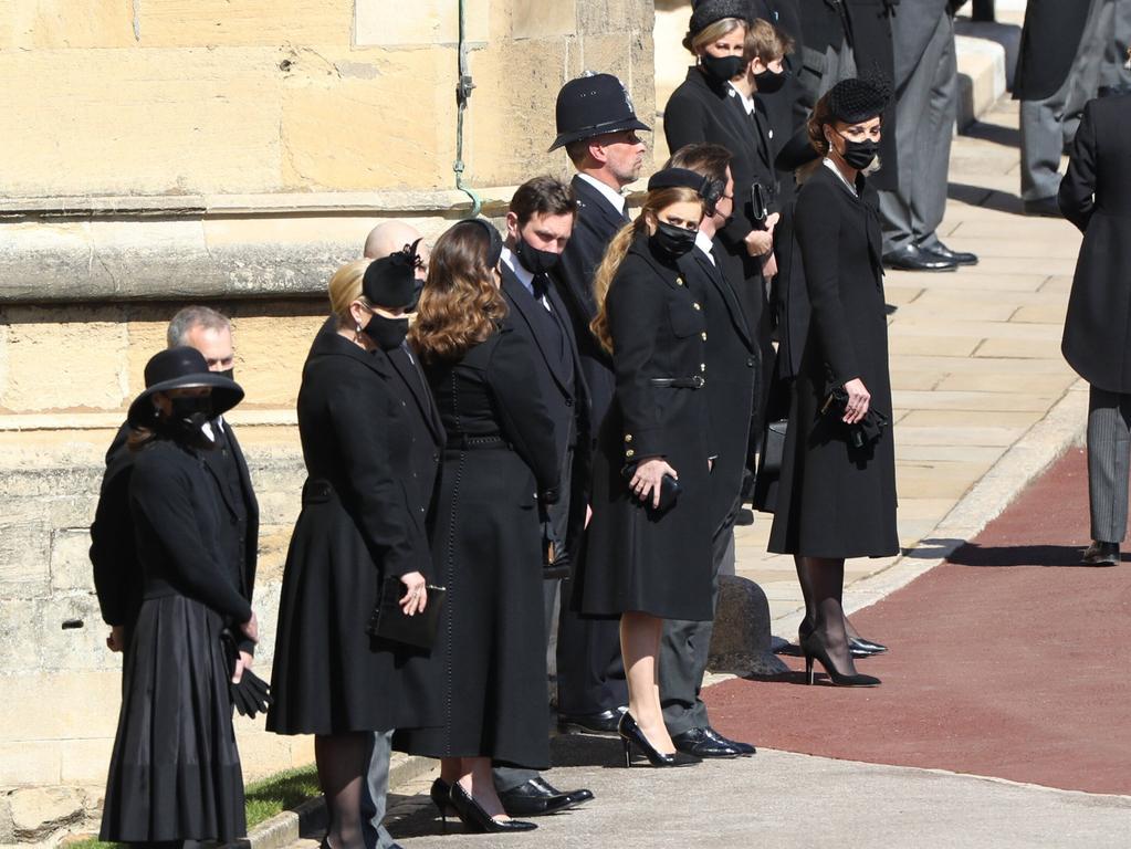 . 17/04/2021. Windsor , United Kingdom. Funeral of Prince Philip, The Duke of Edinburgh, at Windsor Castle. PUBLICATIONxINxGERxSUIxAUTxHUNxONLY xStephenxLockx/xi-Imagesx IIM-22124-0021