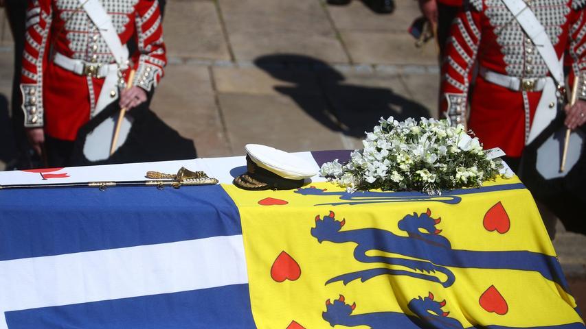 Königliche Familie nimmt Abschied von Prinz Philip