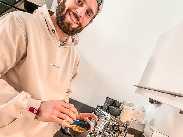 Hat seine Leidenschaft für Kaffee gepflegt: Nico Büdel.