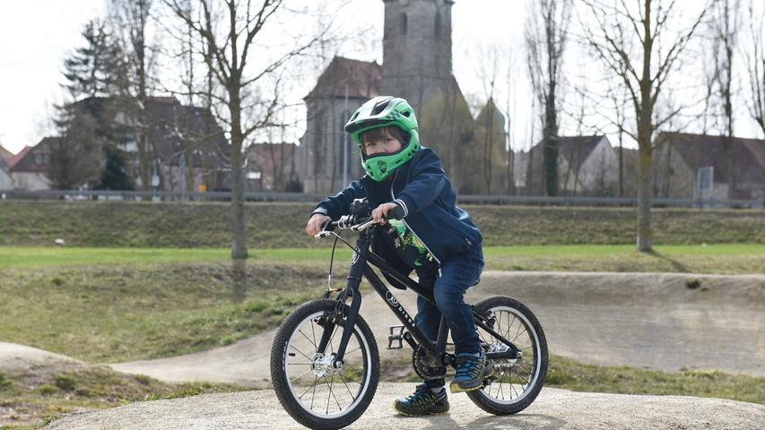 Der vierjährige Hannes Rucker