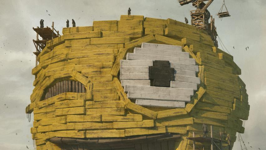 Ein Detail aus der Collage von Beeple.