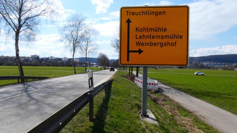 Für Autofahrer, die aus Treuchtlingen kommend Richtung Kohlmühle abbiegen wollen, gibt es nun eine zusätzliche Linksabbiegespur.