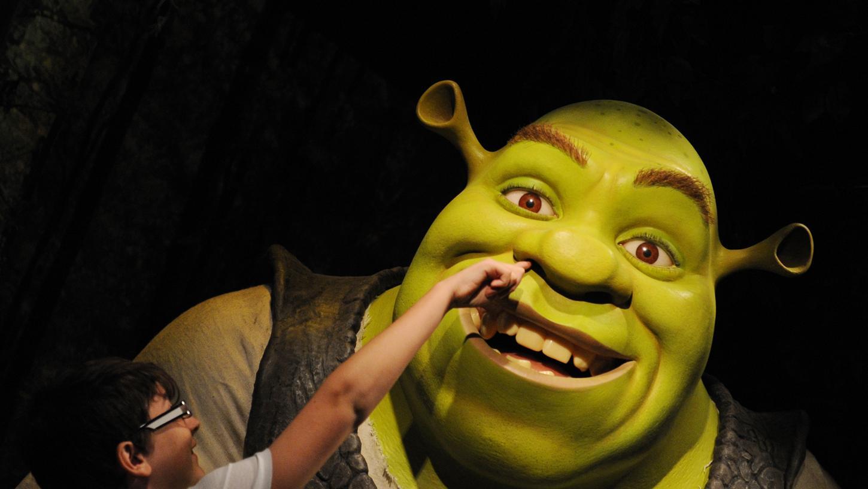Der tollkühne Filmheld Shrek ist ein bekannter