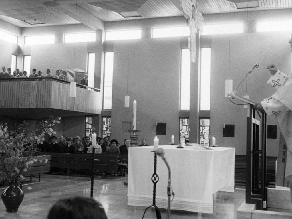 In der Kirche von Eltersdorf warben Häftlinge mit Schuberts