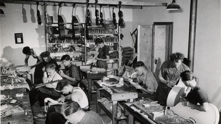Geigenbauersiedlung Bubenreuth: Vom Zweiten Weltkrieg bis heute