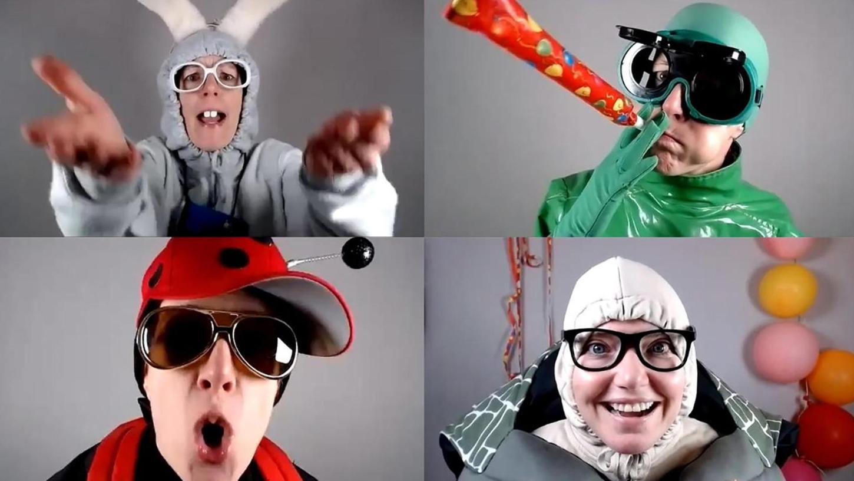 """Läuft als Livestream via Zoom: """"Weil heute mein Geburtstag ist. . ."""" spielt das Ensemble United Puppets aus Berlin für Kinder ab vier Jahren."""