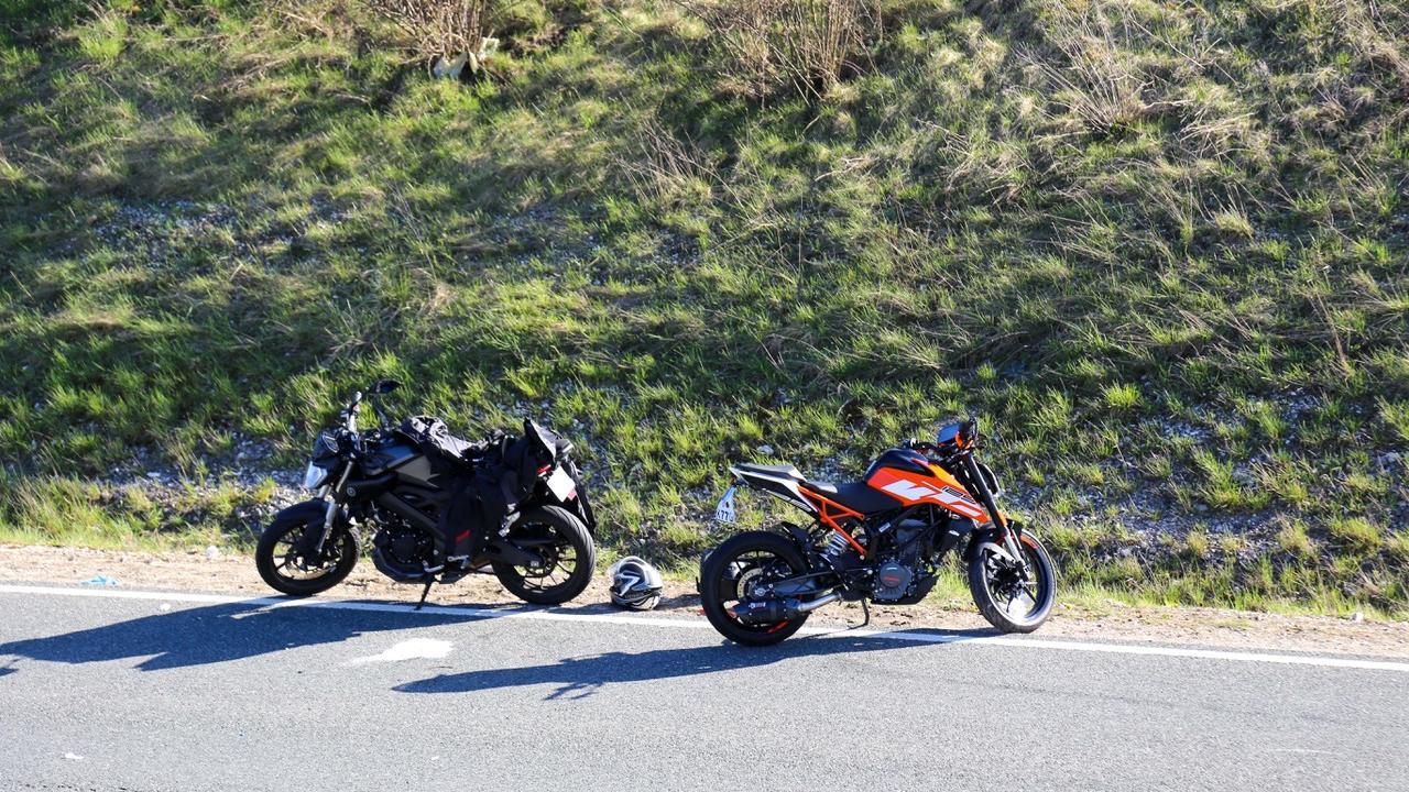Verfolgungsjagd mit Polizei: Verdacht auf illegales Motorradrennen